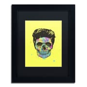 "Trademark Fine Art Balazs Solti 'Color Your Death' 11"" x 14"" Matted Framed (190836176908)"