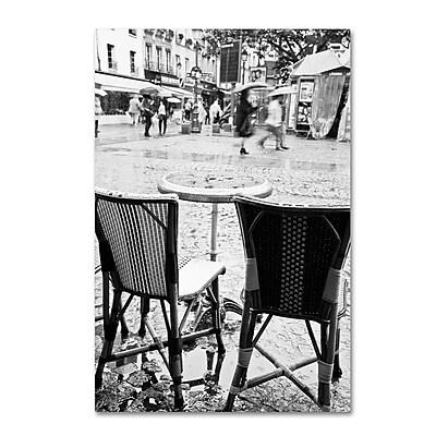 Trademark Fine Art Yale Gurney 'Paris Cafe for 2' 12