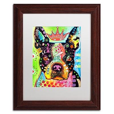 Trademark Fine Art Dean Russo 'Boston Terrier Crowned' 11