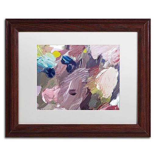 """Trademark Fine Art David Lloyd Glover 'Cloud Patterns' 11"""" x 14"""" Matted Framed (190836228362)"""