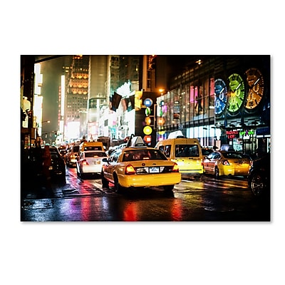 Trademark Fine Art Philippe Hugonnard 'Time Night NYC' 12