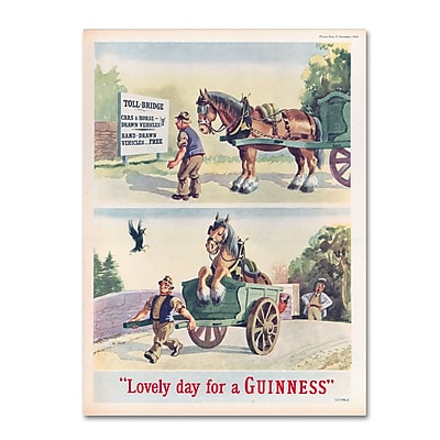 Trademark Fine Art Guinness Brewery 'Lovely Day For A Guinness XI' 14