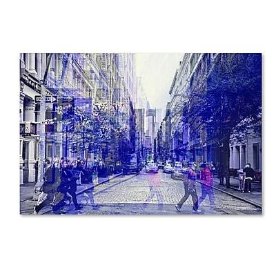 """""Trademark Fine Art Philippe Hugonnard 'Urban Vibrations Soho' 12"""""""" x 19"""""""" Canvas Stretched (190836120208)"""""" 2578154"