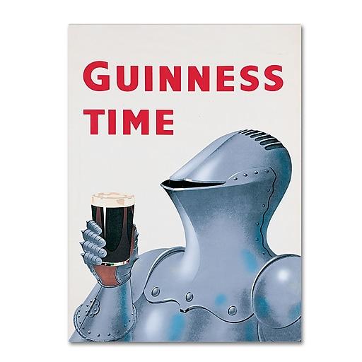 """Trademark Fine Art Guinness Brewery 'Guinness Time IV' 14"""" x 19"""" Wall Art (190836245635)"""