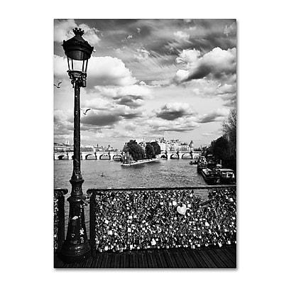 Trademark Fine Art Philippe Hugonnard 'Pont des Arts Paris' 14