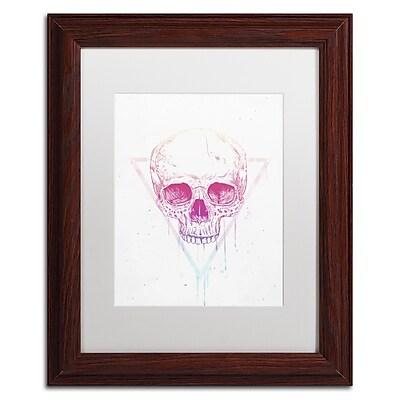 Trademark Fine Art Balazs Solti 'Skull In Triangle' 11