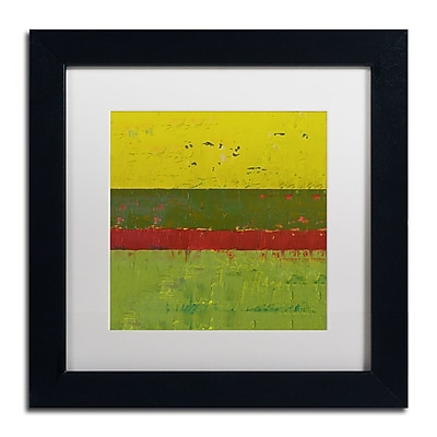 Trademark Fine Art Michelle Calkins 'Yellow Sky' 11