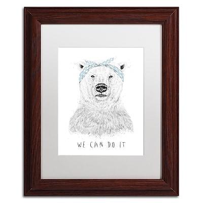 Trademark Fine Art Balazs Solti 'We Can Do It' 11