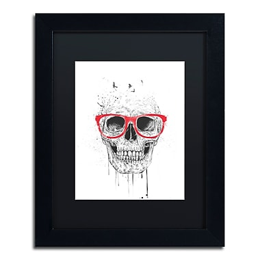 Trademark Fine Art Balazs Solti 'Skull With Red Glasses' 11