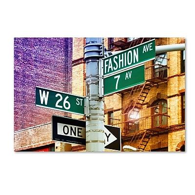 Trademark Fine Art Philippe Hugonnard 'Fashion Avenue New York' 12