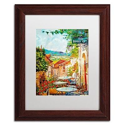 Trademark Fine Art David Lloyd Glover 'Provence Cafe Morning' 11