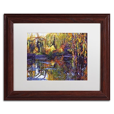 Trademark Fine Art David Lloyd Glover 'Tapestry Reflection' 11