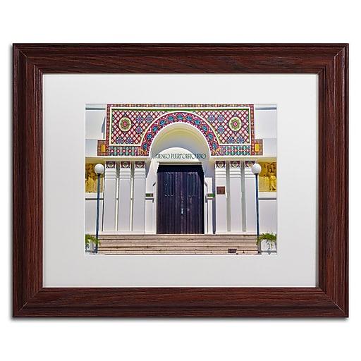 "Trademark Fine Art CATeyes 'Ateneo Puertorriqueno San Juan' 11"" x 14"" Matted Framed (190836033317)"