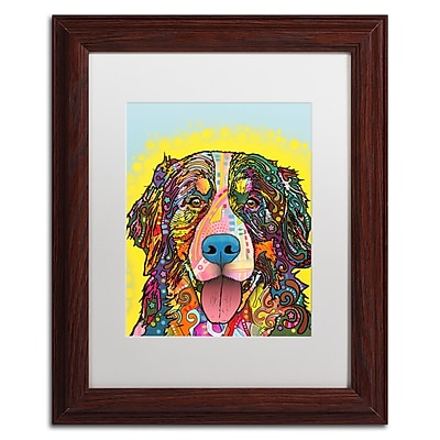 Trademark Fine Art Dean Russo 'Bernese Mountain Dog' 11