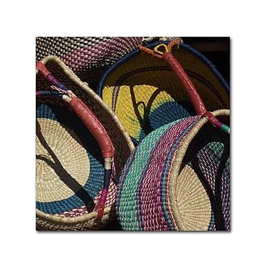 Trademark Fine Art Pat Saunders-White 'Cheyenne Baskets' 18