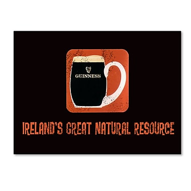 Trademark Fine Art Guinness Brewery 'Ireland's Great Natural Resource' 14