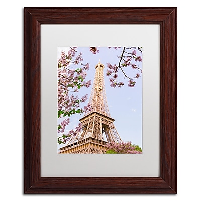 Trademark Fine Art Ariane Moshayedi 'Eiffel Tower in Spring' 11