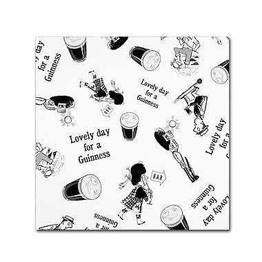 Trademark Fine Art Guinness Brewery 'Lovely Day For A Guinness VII' 18