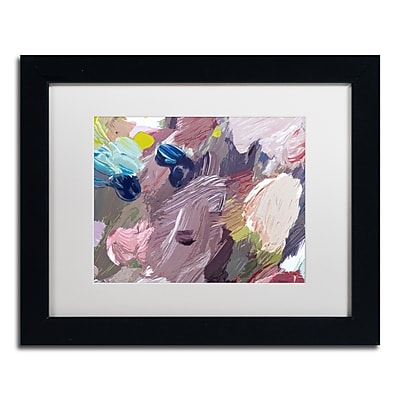 "Trademark Fine Art David Lloyd Glover 'Cloud Patterns' 11"" x 14"" Matted Framed (190836228249)"