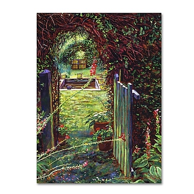 Trademark Fine Art David Lloyd Glover 'Wicket Garden Gate' 14