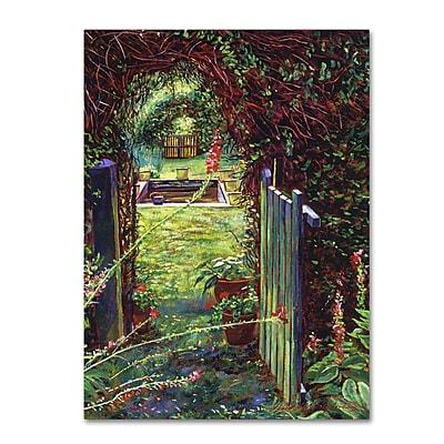 Trademark Fine Art David Lloyd Glover 'Wicket Garden Gate' 14