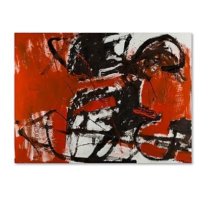 Trademark Fine Art Joarez 'Black Horse' 14
