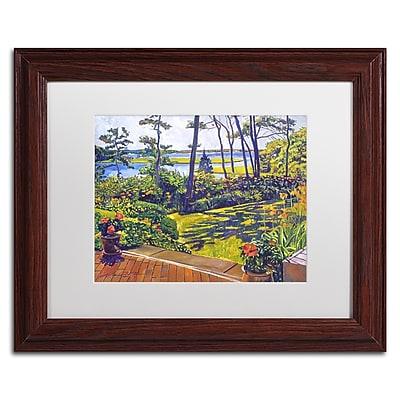 Trademark Fine Art David Lloyd Glover 'Ocean Lagoon Garden' 11