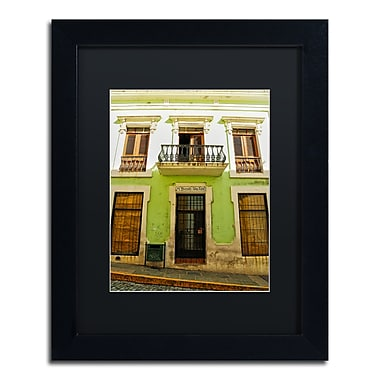 Trademark Fine Art CATeyes 'Old San Juan 5' 11