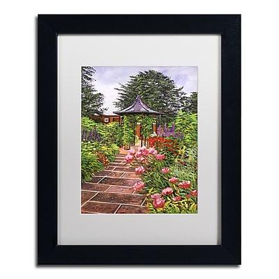 Trademark Fine Art David Lloyd Glover 'Carrington Garden' 11