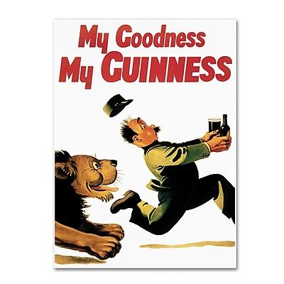 Trademark Fine Art Guinness Brewery 'My Goodness My Guinness XIV' 14