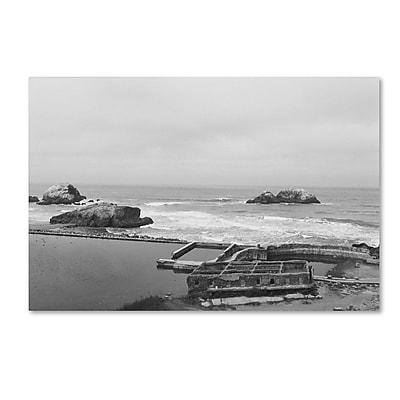 "Trademark Fine Art Ariane Moshayedi 'Lands End San Francisco' 30"" x 47"" Canvas Stretched (190836269495)"