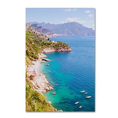 Trademark Fine Art Ariane Moshayedi 'Amalfi Coast' 30