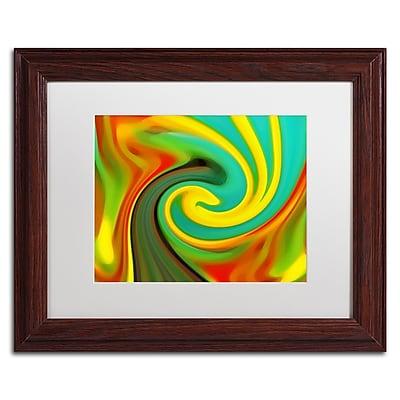 Trademark Fine Art Amy Vangsgard 'Abstract Flower Unfurling 1' 11