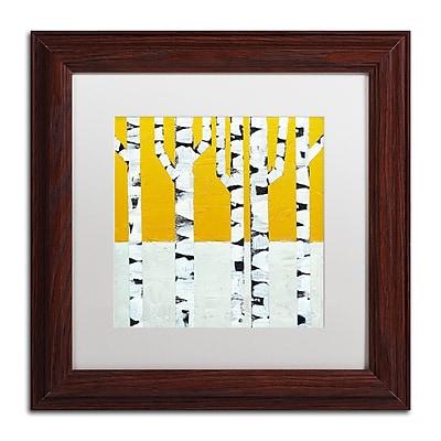 Trademark Fine Art Michelle Calkins 'Seasonal Birches - Winter' 11