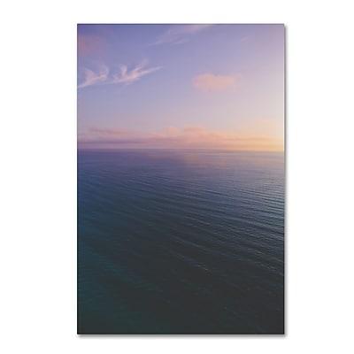 Trademark Fine Art Ariane Moshayedi 'Ocean Horizon Sunset' 12