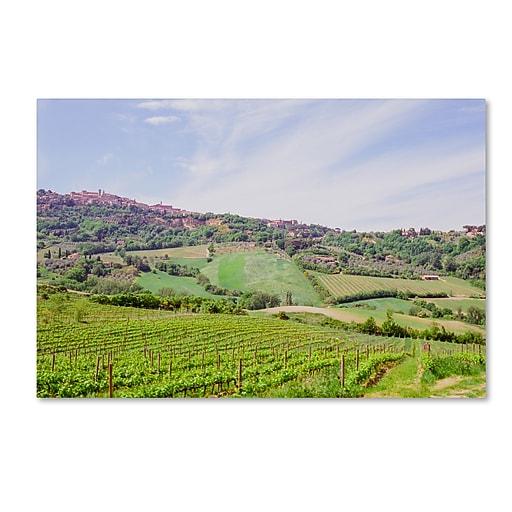 "Trademark Fine Art Ariane Moshayedi 'Tuscany' 12"" x 19"" Canvas Stretched (190836275625)"