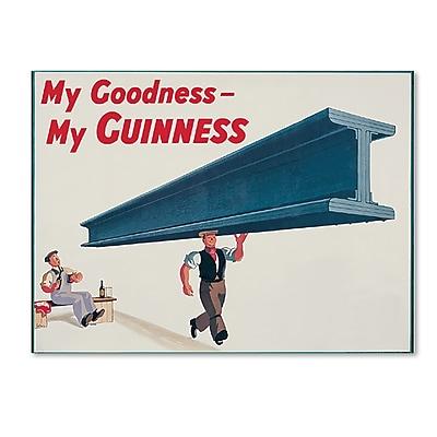 Trademark Fine Art Guinness Brewery 'My Goodness My Guinness XVII' 14
