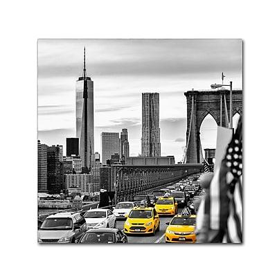 Trademark Fine Art Philippe Hugonnard 'Taxis in New York' 14
