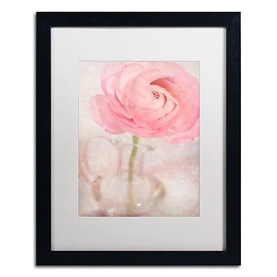 Trademark Fine Art Cora Niele 'Single Rose Pink Flower' 16