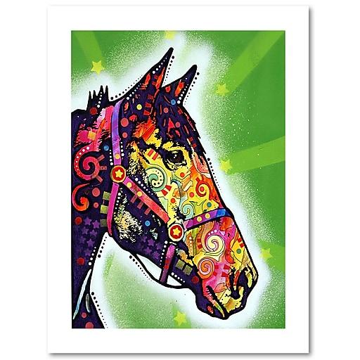 "Trademark Fine Art Dean Russo 'Horse II' 18"" x 24"" Paper Rolled (190836155125)"