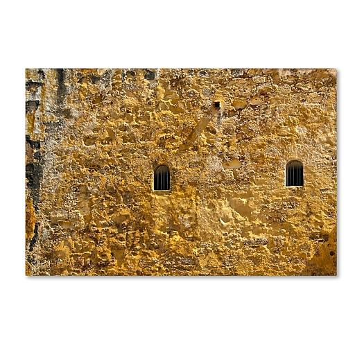 """Trademark Fine Art CATeyes 'Castillo de San Felipe del Morro 17' 12"""" x 19"""" Canvas Stretched (190836036615)"""
