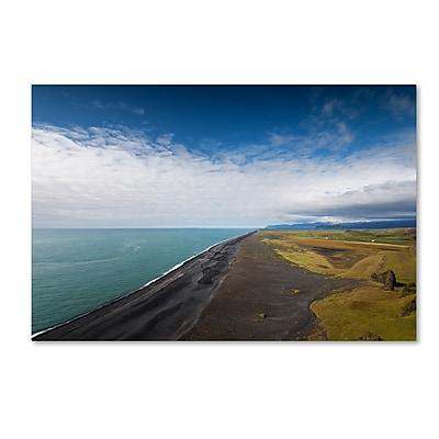 Trademark Fine Art Philippe Sainte-Laudy 'Dyrholaey Beach' 12