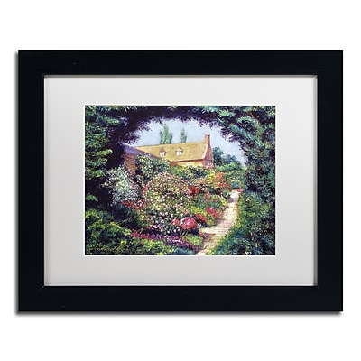 Trademark Fine Art David Lloyd Glover 'English Garden Stroll' 11