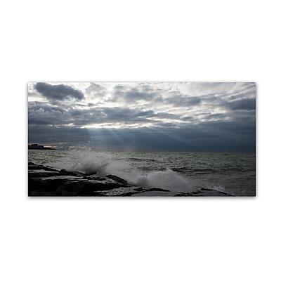 Trademark Fine Art Kurt Shaffer 'Why I Love This Great Lake' 10