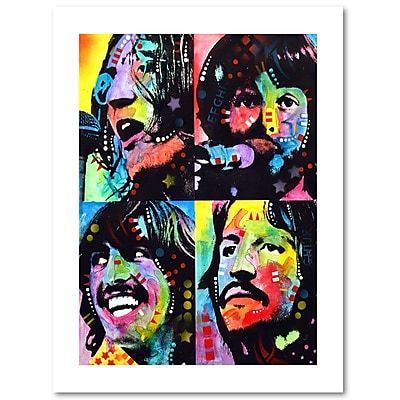 Trademark Fine Art Dean Russo 'Beatles' 18