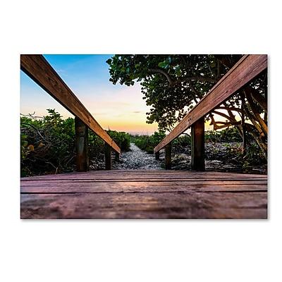 Trademark Fine Art Philippe Hugonnard 'Boardwalk Miami' 12