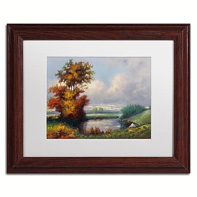 Trademark Fine Art Daniel Moises 'Landscape Next to Heaven' 11