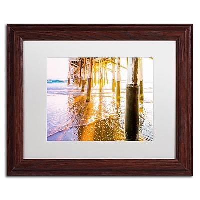 Trademark Fine Art Ariane Moshayedi 'Newport Pier Sunset' 11