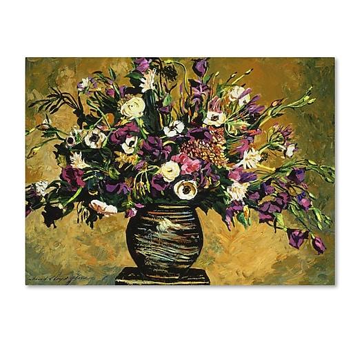 "Trademark Fine Art David Lloyd Glover 'Renaissance Still Life' 14"" x 19"" Canvas Stretched (190836187423)"