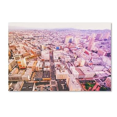 Trademark Fine Art Ariane Moshayedi 'Downtown San Francisco' 22